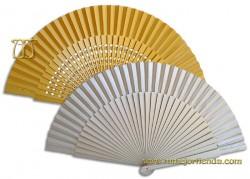 Abanico boda Dorado-Plateado, Ref. 001-142