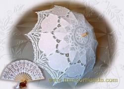SOMBRILLA Y ABANICO, 301 Conjunto de novia