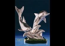 Figura de plata, MOD. DELFINES GRANDES