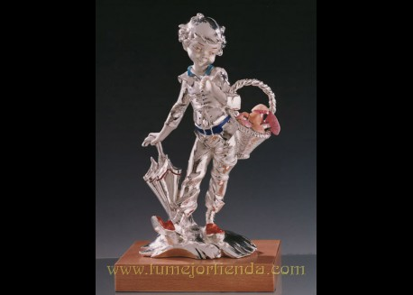 Figura de plata, MOD. RECOGEDOR DE SETAS