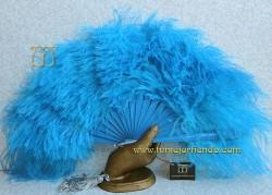 Abanico plumas, Mod. LÍA