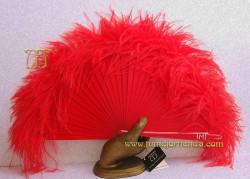 Abanico de plumas, Mod. ÁFRICA