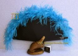 Abanico de plumas, Mod. MYM-22054