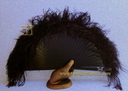 Abanico de plumas, Mod. MYM-22055