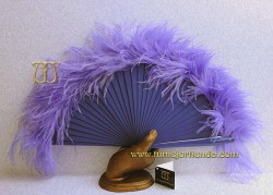 Abanico de plumas, Mod. MYM-22056
