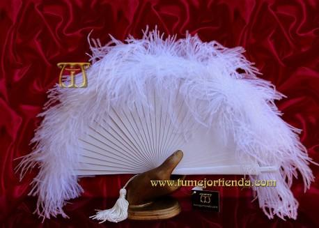 Abanico de plumas, Mod. MYM-22050