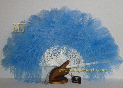 Abanico de plumas, Mod. CAMPANILE