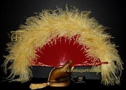 Abanico de plumas, Mod. NINA