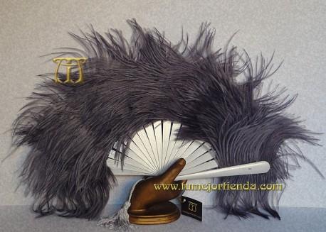 Abanico plumas, Mod. MESSALINA