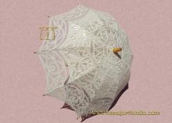 Sombrilla de encaje Novia, REF. 910-M
