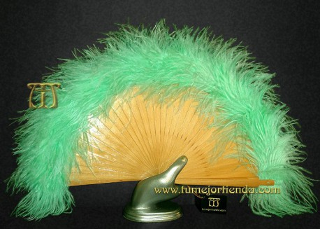 Abanico de plumas, Mod. AVENTURINA