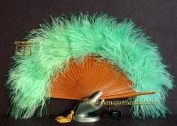 Abanico de plumas, Mod. JADE