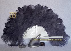 Abanico de plumas, Mod. GALATEA