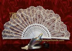Abanico de novia, Mod. 53124-B