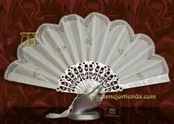 Abanico de novia, mod. ML-02014