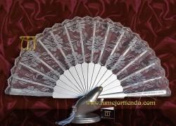 Abanico de madrina-fiesta, MOD. L-71334-II