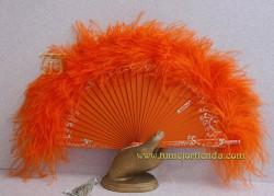 Abanico de plumas, Mod. CHLOE