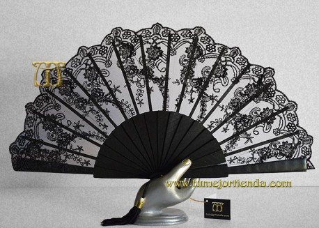 Abanico de madrina-fiesta, mod. L-71662