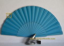 Abanico pericón Flamenco, REF. 900-Azul