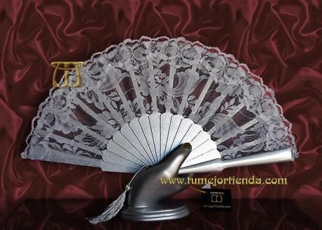 Abanico de madrina-fiesta mini, mod. G-52570-Pl