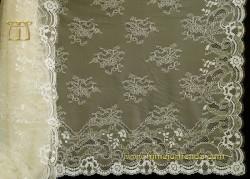 Mantilla Chantilly marfil