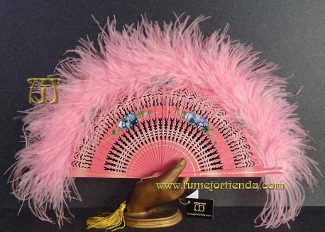 Abanico de plumas, Mod. GIOVANNA