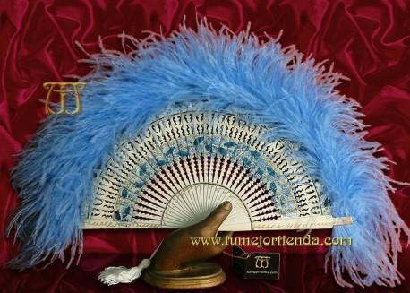 Abanico de plumas, Mod. SIMONETTA