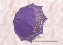 Sombrilla de encaje brujas LILA, Ref. 912-Li