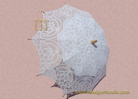 Sombrilla de  encaje Novia, REF. 912-B