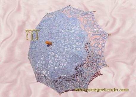 Sombrilla de encaje brujas CELESTE, Ref. 912-Ce