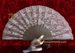 Abanico de madrina-fiesta, mod. L-71690