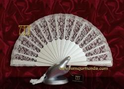 Abanico comunión-novia bolso, Mod. C-53125