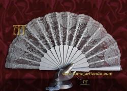 Abanico de madrina-fiesta, mod L-71335-II-Pl