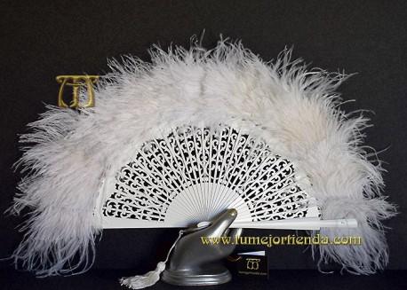 Abanico de plumas, Mod. ARIANNA